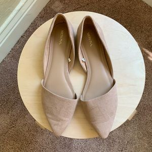Merona by Target Suede Pointed Toe Flats